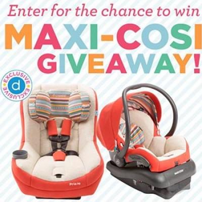 Maxi-Cosi Giveaway