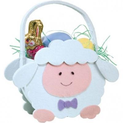 Miles Kimball Lamb Easter Basket Just $9.99 + Free Shipping