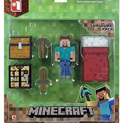 Minecraft Core Player Survival Pack Just $10.27 (Reg $15.99)