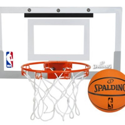 Spalding NBA Slam Jam Over-The-Door Mini Basketball Hoop Only $25.00 (Reg $39.99)