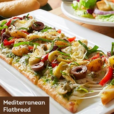 Olive Garden 6 Flatbread Lunch Combo Oh Yes It 39 S Free
