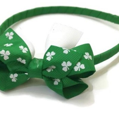 St Patrick's Day Shamrock Party Bow Just $7.25 + Free Shipping