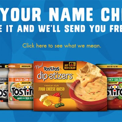 Tostitos: Every Chip Gets Free Dip
