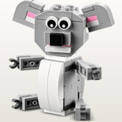 Monthly Mini Build: Free LEGO Koala
