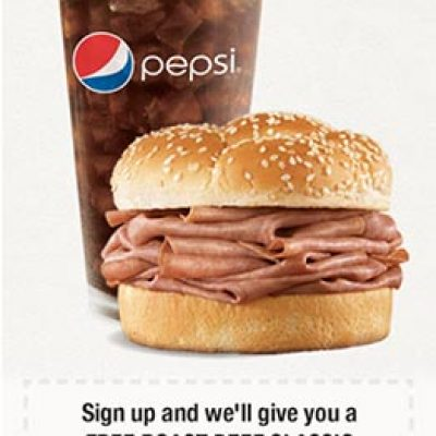 Free Roast Beef Classic W/ Drink Purchase
