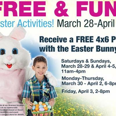 Bass Pro: Free & Fun Easter Activities