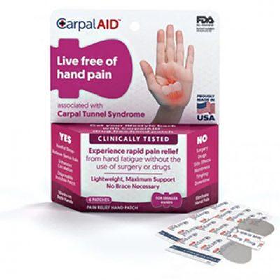 Free CarpalAid Samples