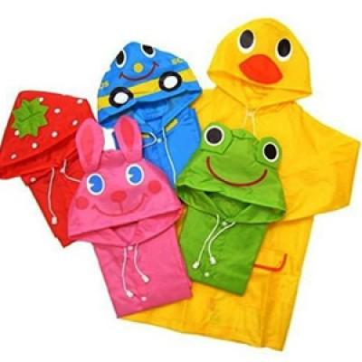 Cartoon Style Toddler Raincoat Just $6.25 + Free Shipping