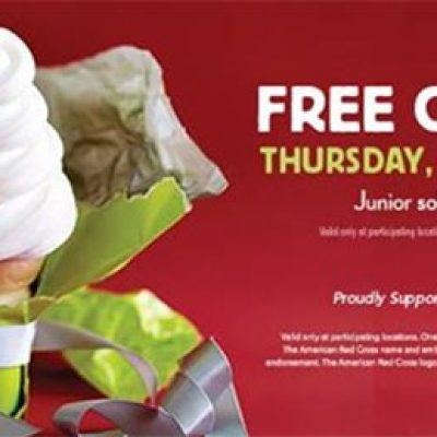 Carvel: Free Cone Day