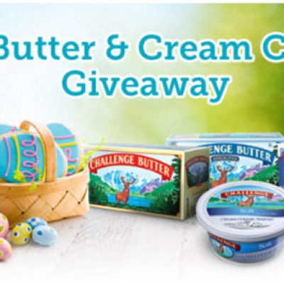 Challenge Butter & Cream Cheese Giveaway