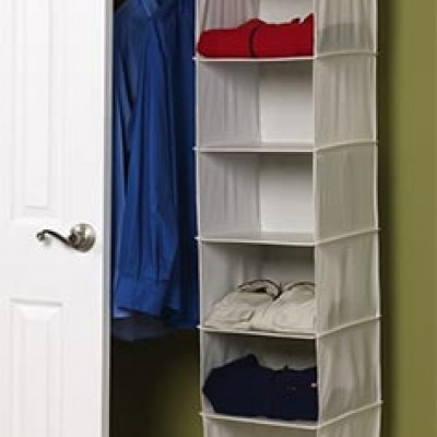Hanging Closet Organizer Only $9.99 (Reg $21.99)