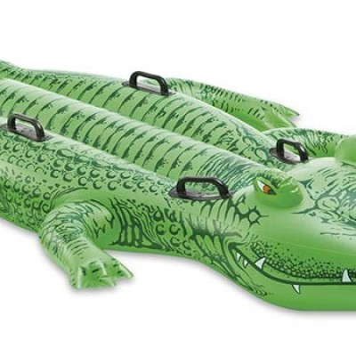 Intex Giant Gator Ride-On Only $18.60 + Free Shipping