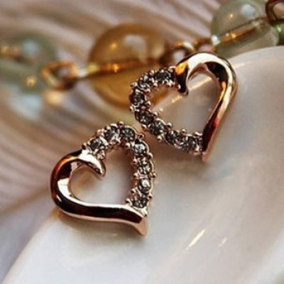 Heart Shaped Earrings Only $2.15 + $0.85 Shipping