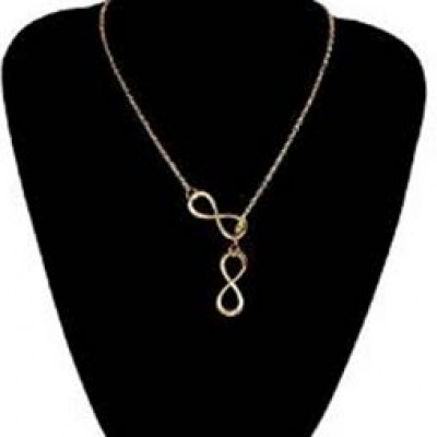 Infinity Cross Necklace Just $3.38 + Free Shipping