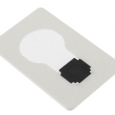 LED Pocket Lamp Card Only $1.82 + Free Shipping