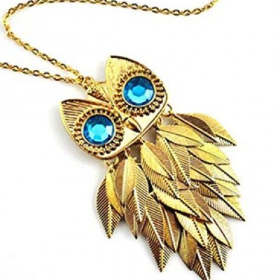 Owl Tassal Pendant Only $2.82 + Free Shipping