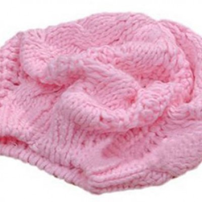 Pink Wool Beanie Only $3.69 + Free Shipping