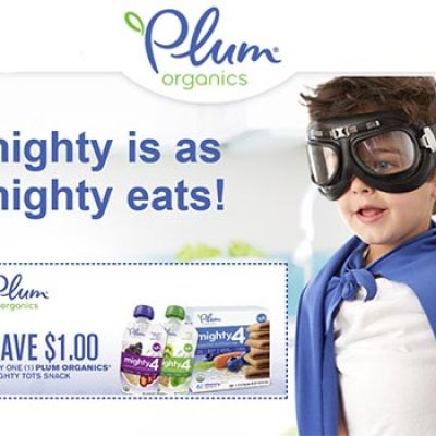 Plum Organics Mighty Tots Snack Coupon