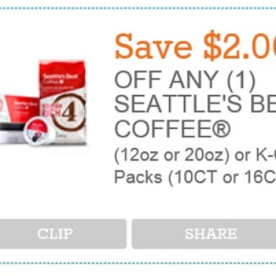 New Seattle's Best Coffee Coupon