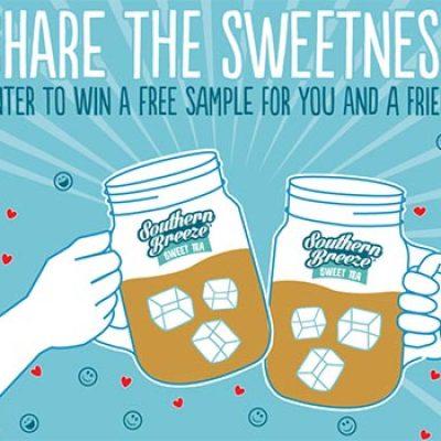Win a Sample of Southern Breeze Sweet Tea