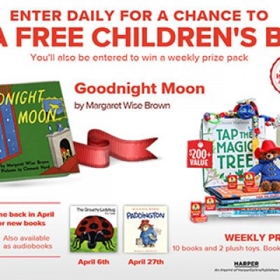 Win A Free Children's Book