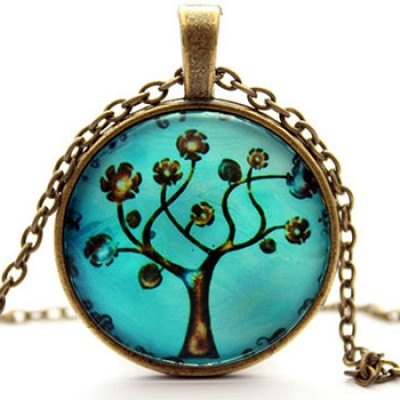 Ocaler Tree Pendant & Chain Only $2.85 + Free Shipping