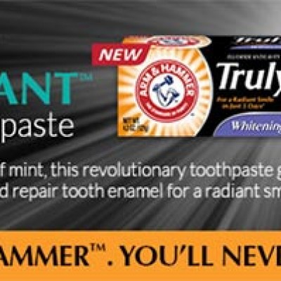 Free Truly Radiant Toothpaste Samples