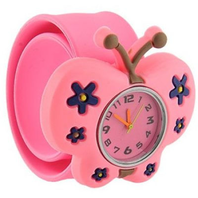 Bendable 3D Butterfly Watch Only $3.95 + Free Shipping