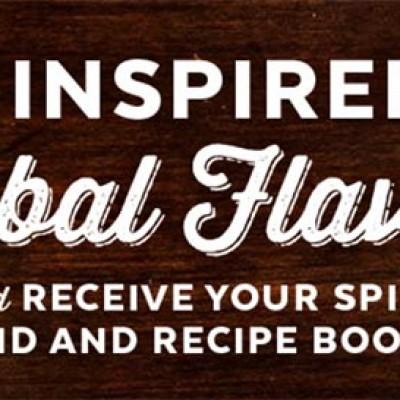Free Spice Tin, Recipe Booklet & Sweepstakes