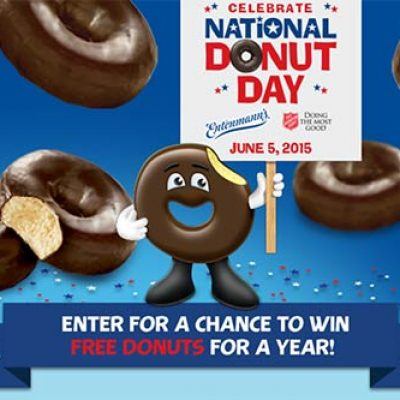 Win 1 of 100 Donuts For A Year