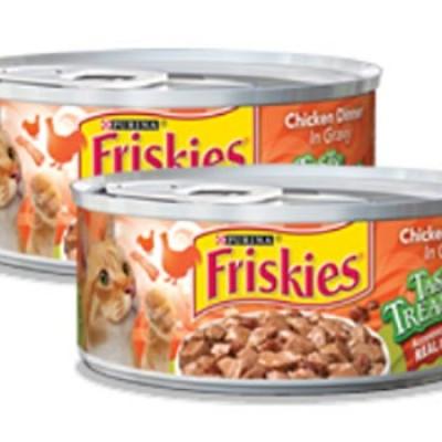 Free Friskies Tasty Treasures W/ Coupon
