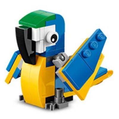 LEGO Mini Model Build: Free LEGO Parrot