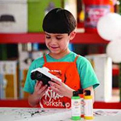 Home Depot Kid's Workshop: Free Load N' Go Truck
