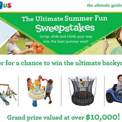 ToysRUs: Win the Ultimate Backyard