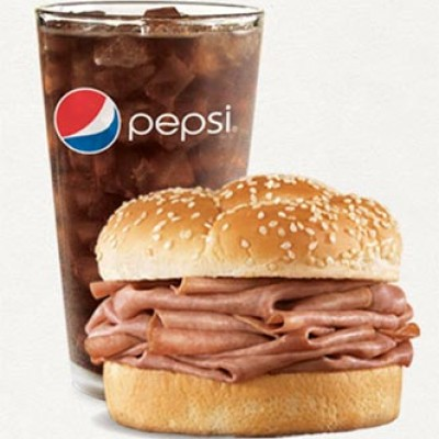 Free Roast Beef Sandwich at Arby's W/ Purchase
