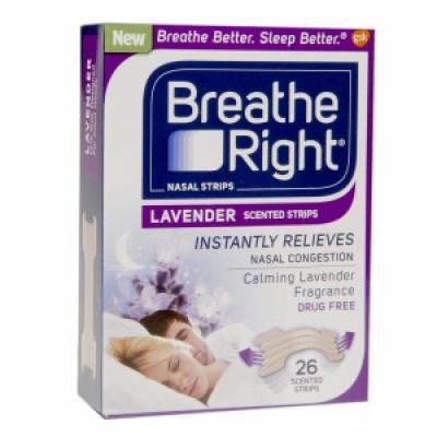 Free Breathe Right Lavender Samples