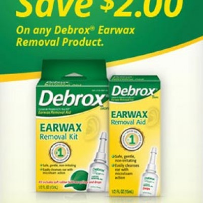 Debrox Earwax Removal Coupon