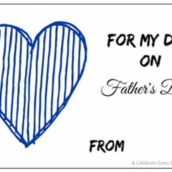 Free Printable Father's Day Gift