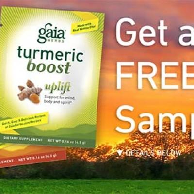 Free Tumeric Boost Samples