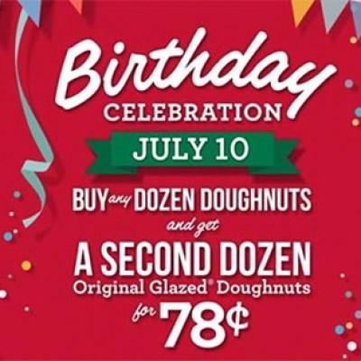 Krispy Kreme: Buy 1 Dozen Get 2nd For $0.78