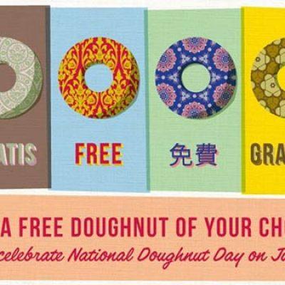 Krispy Kreme: Free Doughnut Of Your Choice