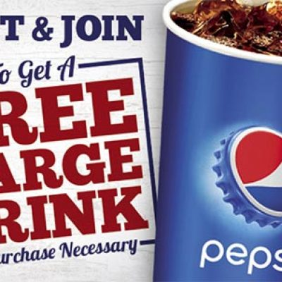 Long John Silvers: Free Large Drink (No Purchase Neccessary)