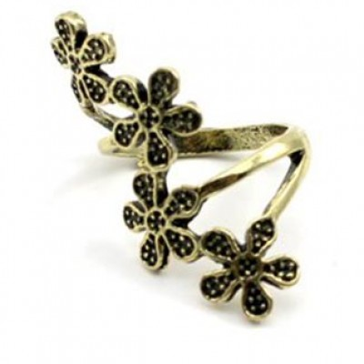 Plum Blossom Flower Ring Only $1.72 + Free Shipping