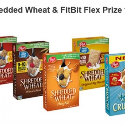 Win a Shredded Wheat & FitBit Flex Prize