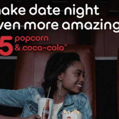 AMC: Popcorn & Coca-Cola Just $5