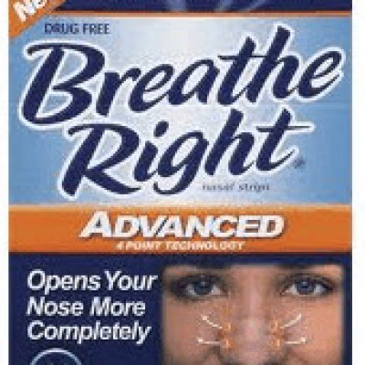 Free Breathe Right Nasal Strips + Coupon