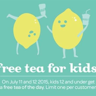 David's Tea: Free Tea for Kids