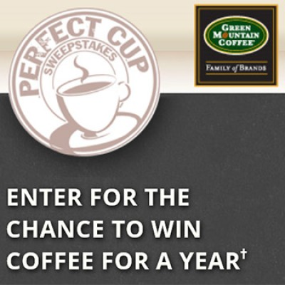 Green Mountain: Win Coffee For A Year
