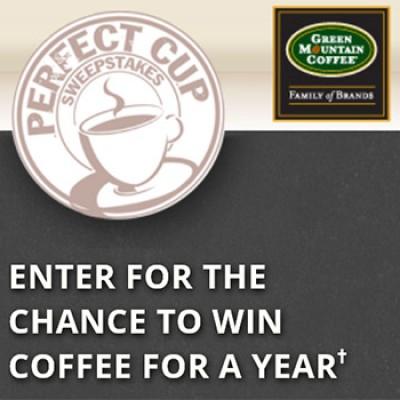 Green Mountain: Win Coffee For A Year