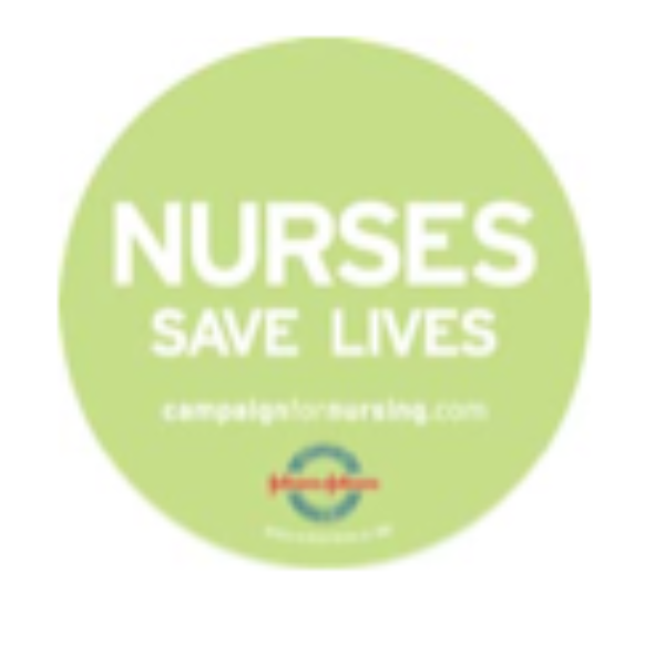 Free Nurses Save Lives Sticker
